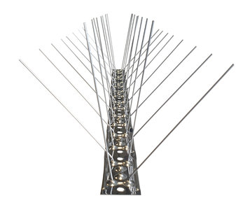 RVS Duivenpinnen met RVS basis (Type AGS-02) per doos a 50 meter